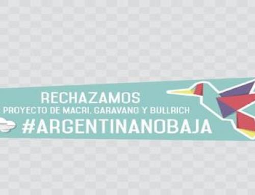 Argentina No Baja se expresó en contra del Servicio Cívico Voluntario