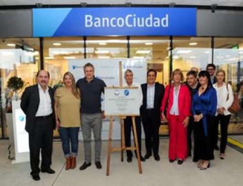 El Banco Ciudad inaugura sucursal en el ex Elefante Blanco de Villa Lugano