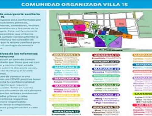 """Comunidad Organizada Comuna 8: """"No nos detenemos esperando un protocolo"""""""